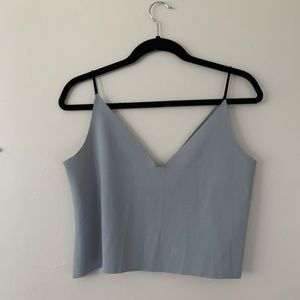 Tops - Grey-Blue camisole